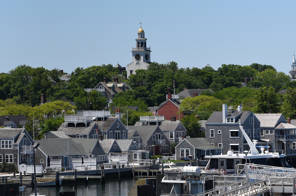 Nantucket as seen from ferry