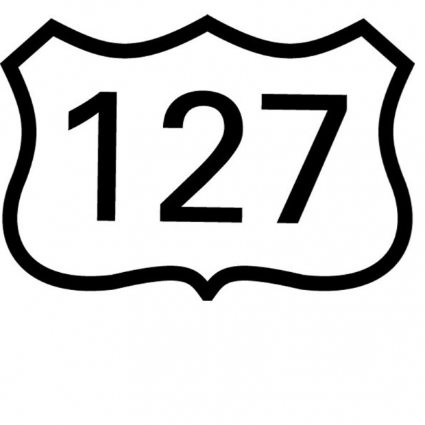 US Route 127 Sign