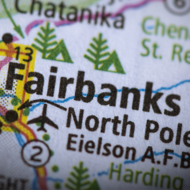 Fairbanks, Alaska, map